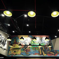 Tienda RUNA: Restaurantes de estilo  por SXL ARQUITECTOS, Industrial