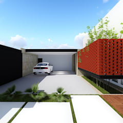 Carport by BOCA ARQUITECTOS