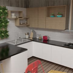 Built-in kitchens by Naromi  Design