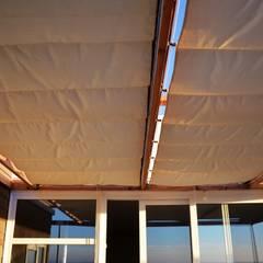 Projekty,  Dach zaprojektowane przez Casas Metal