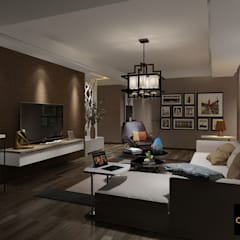 Living room by The Design Code