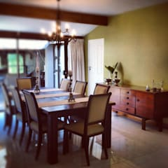 ​House Mitchell :  Dining room by Redesign Interiors