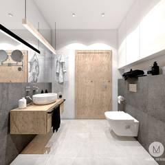 Baños de estilo escandinavo por MADO DESIGN