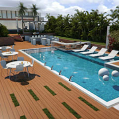 Garden Pool by Complementos C.A.