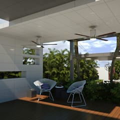 Front yard by Complementos C.A.
