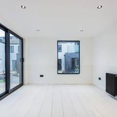 Scandinavian Style - American White Ash flooring :  Commercial Spaces by Wood Flooring Engineered Ltd - British Bespoke Manufacturer