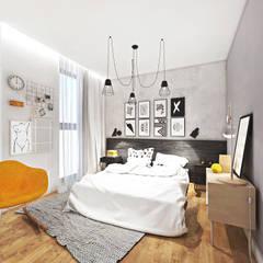 ARANŻACJA DOMU 135 m2 / przy ul. Władysława Łokietka w Krakowie: styl , w kategorii Dom jednorodzinny zaprojektowany przez MADO DESIGN