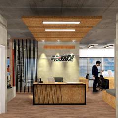 Projeto de Interiores: Espaços comerciais  por Bruno Ribeiro Arquitetura