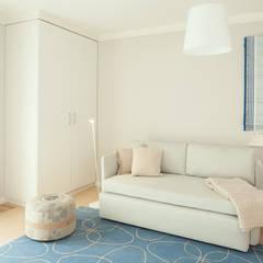 Vertrautes Wohnen:  Schlafzimmer von UNA plant