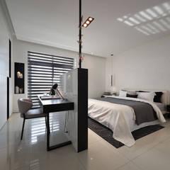 Bedroom by 楊允幀空間設計,