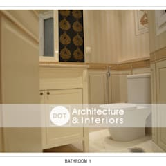:  حمام تنفيذ DOT Architecture and Interior