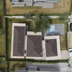 Egeli Proje – 1 numaralı evin üstten görünüşü:  tarz Çatı