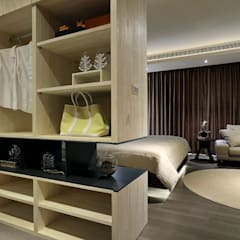 غرفة الملابس تنفيذ 楊允幀空間設計