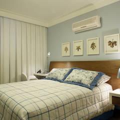 اتاق خواب توسطFernanda Quelhas Arquitetura, مدرن چوب Wood effect