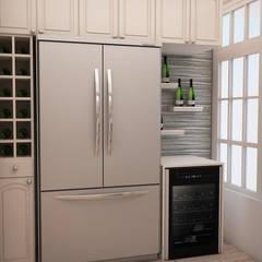 Cocina Monterrico: Muebles de cocinas de estilo  por Spacio5