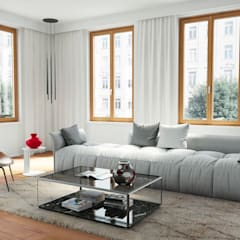 Wooden windows by Oknoplast