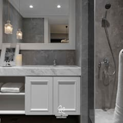 classic Bathroom by 成綺空間設計