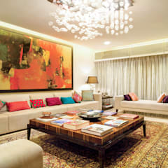 Premium home designs:  Living room by Bric Design Group