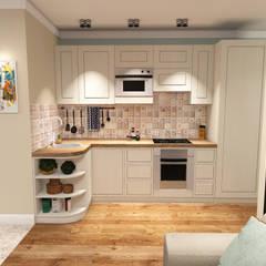 Дизайн проект квартиры.: Кухонные блоки в . Автор – Екатерина Александрова
