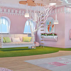Girls Bedroom by Art-i-Chok,