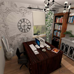 Oficinas de estilo  por Ls Lempart Studio,