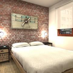 Dormitorio Principal: Dormitorios de estilo  de M2 Al Detalle