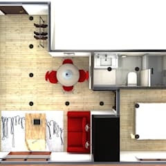 Planta: Casas de estilo  de M2 Al Detalle