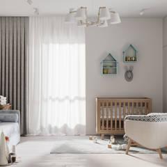 Комната для новорожденного: Детские комнаты в . Автор – Панченко Мария