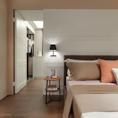 層。柔苒:  更衣室 by 存果空間設計有限公司