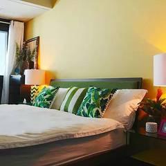 غرفة نوم تنفيذ Harf Noon Design Studio, إنتقائي