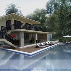 Kolam Renang by Arquitectos y Entorno S.A.S