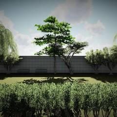 Espaço para esportes: Jardins  por Trivisio Consultoria e Projetos em 3D