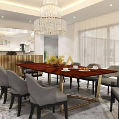 Casa - Cannes: Salas de jantar  por Empolgant Idea