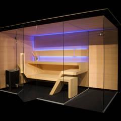 Modern Line : styl , w kategorii Sauna zaprojektowany przez Sauna Line Sp. z o.o.