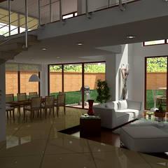 Casas Campestres : Comedores de estilo  por Arquitectos y Entorno S.A.S