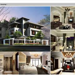 Villa Vinhcity- Neoclassic style:  Nhà by Công ty cổ phần X.Y.Z