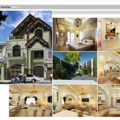 Villa Batrieu Haiduong-Neoclassic style:  Nhà by Công ty cổ phần X.Y.Z