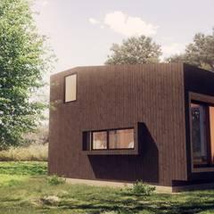 Mini Atelier: Casas de madera de estilo  por Materica