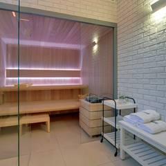 Sauna Comfort Line : styl , w kategorii Spa zaprojektowany przez Sauna Line Sp. z o.o.