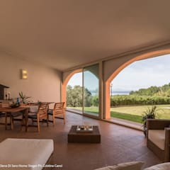 Conservatory by Sapere di Casa - Architetto Elena Di Sero Home Stager