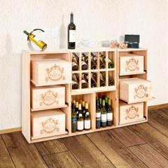 klasieke Wijnkelder door Weinregal-Profi