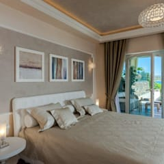 mediterranean Bedroom by Studio D73