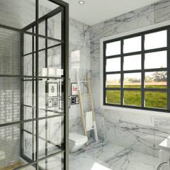 Ping House:  Kamar Mandi by w.interiorstudio