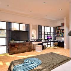 Ping House: Kamar Tidur oleh w.interiorstudio, Klasik