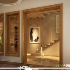 Reception:  Walls by INNOVATION DESIGN STUDIO