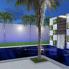 Garden Pool by homify, Eclectic
