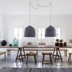 Coleção Satu: Salas de estar  por Meliki,Campestre Madeira Acabamento em madeira