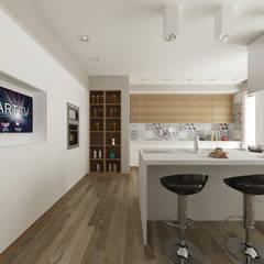 Villa NS: Cucina in stile in stile Mediterraneo di De Vivo Home Design