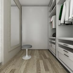Dressing room by De Vivo Home Design