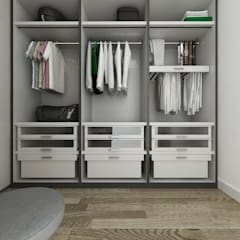 Walk in closet de estilo  por De Vivo Home Design